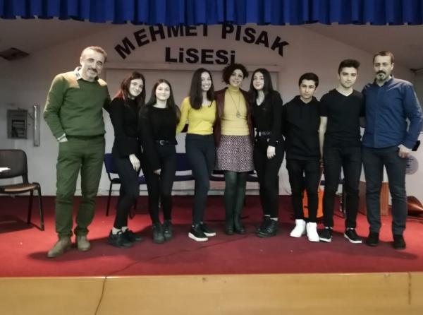 Ikinci Yeni şiiri Söyleşisi Mehmet Pisak Anadolu Lisesi